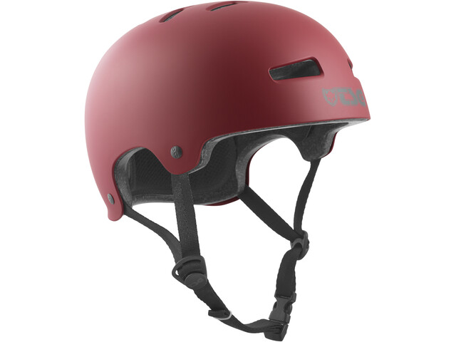 TSG Evolution Solid Color Helmet satin oxblood